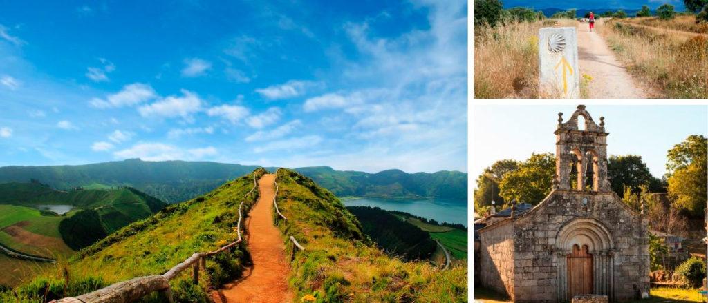 distintas rutas del camino de santiago