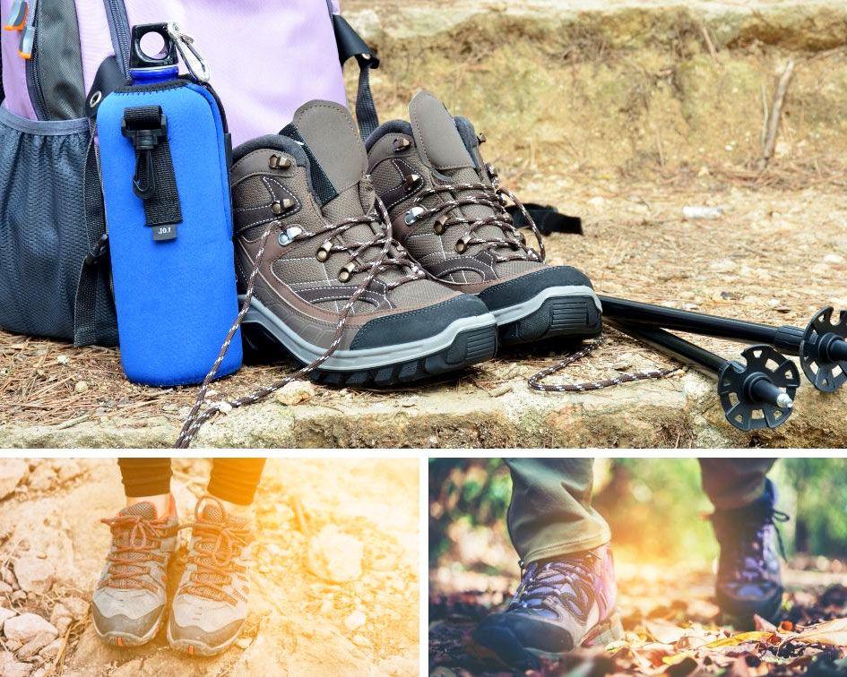 calzado para hacer el camino De Santiago