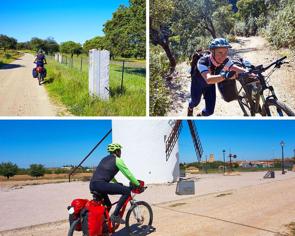 Estar en forma para hacer el camino en bicicleta