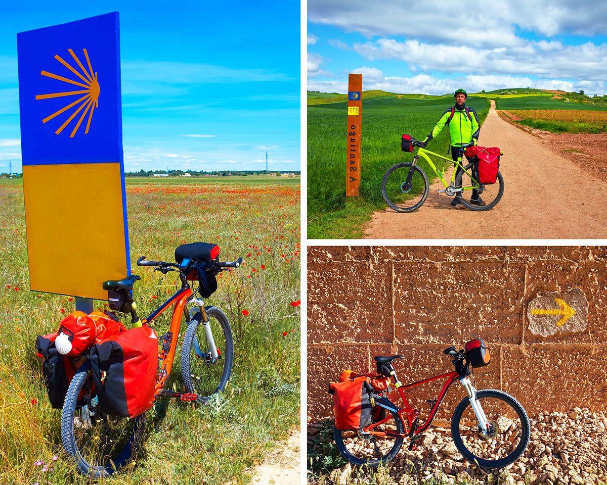 cómo es la bicicleta ideal para hacer el camino de santiago