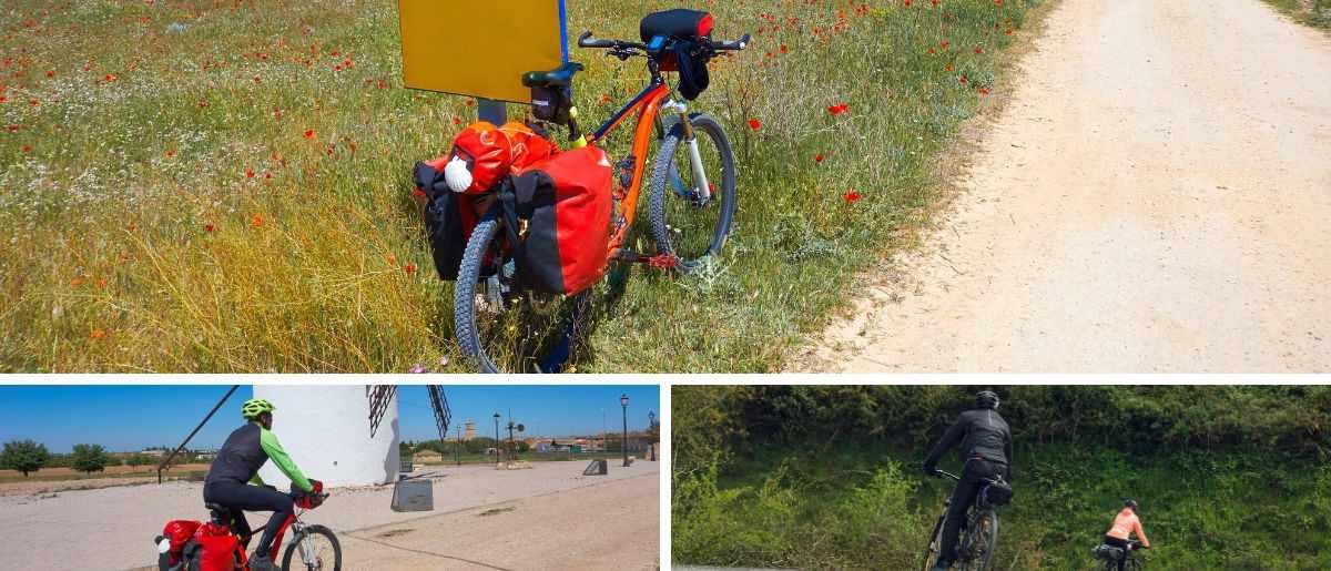 que llevar al camino de santiago en bicicleta